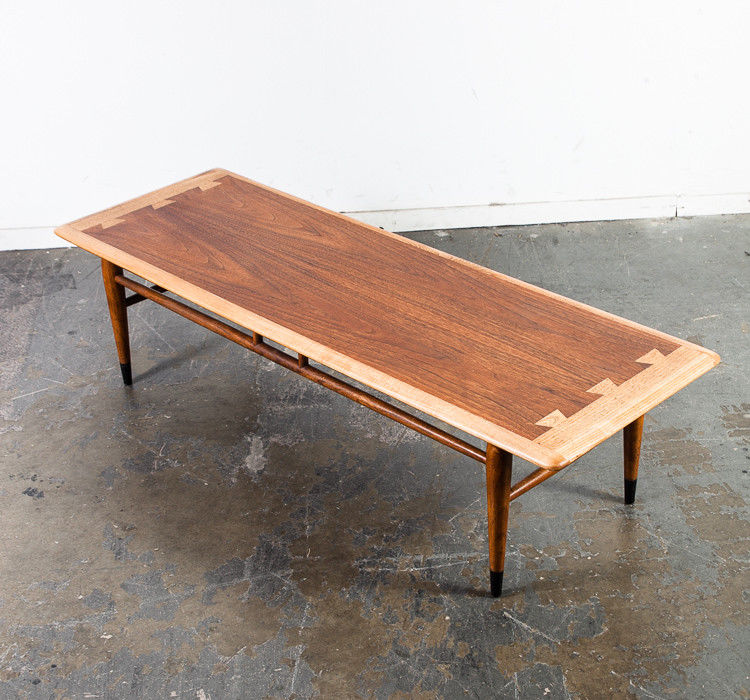 Mid Century Modern Coffee Table Lane Surfboard Mid