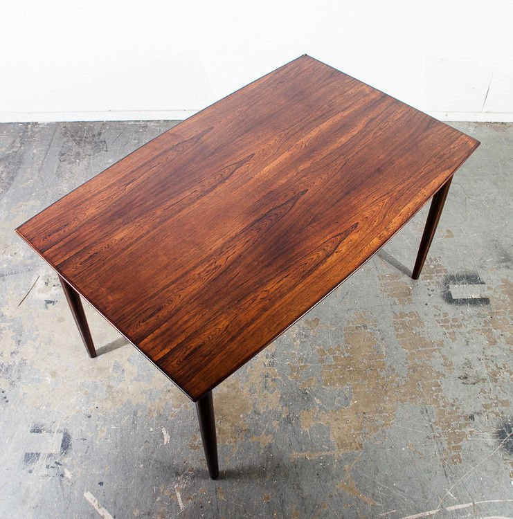 Lovely Mid Century Danish Modern Dining Table Brazilian Rosewood ...