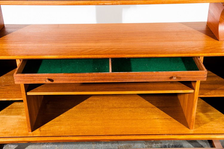 Danish Teak Credenza : Mid century danish modern credenza sideboard teak axel christensen