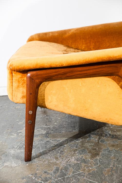 Mid Century Danish Modern Lounge Chair Dux Fohlke Ohlsson Recliner