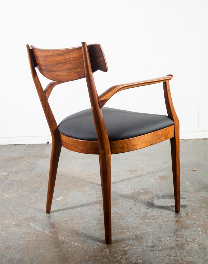Mid Century Modern Dining Chairs 6 Drexel Declaration Kipp Stewart