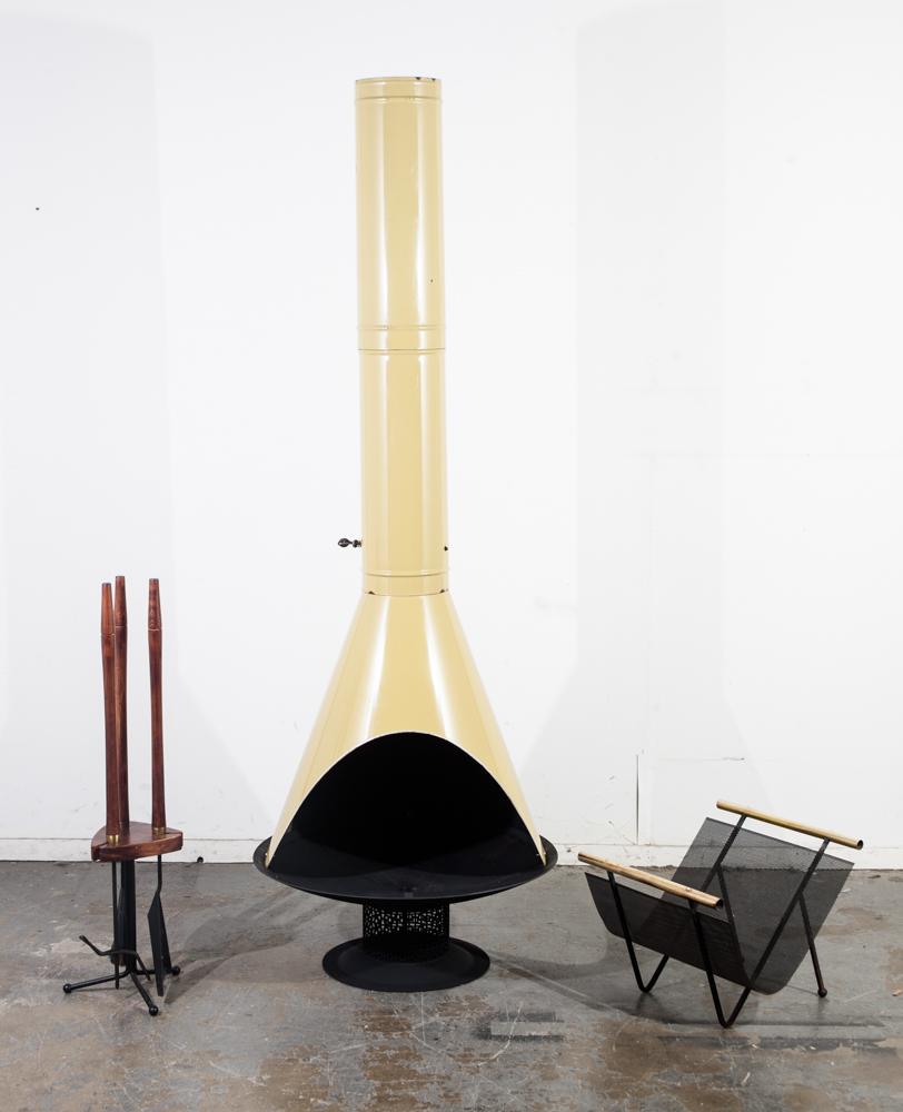 Mid Century Modern Fireplace: Mid Century Modern Fireplace Set Tools Malm Preway Green