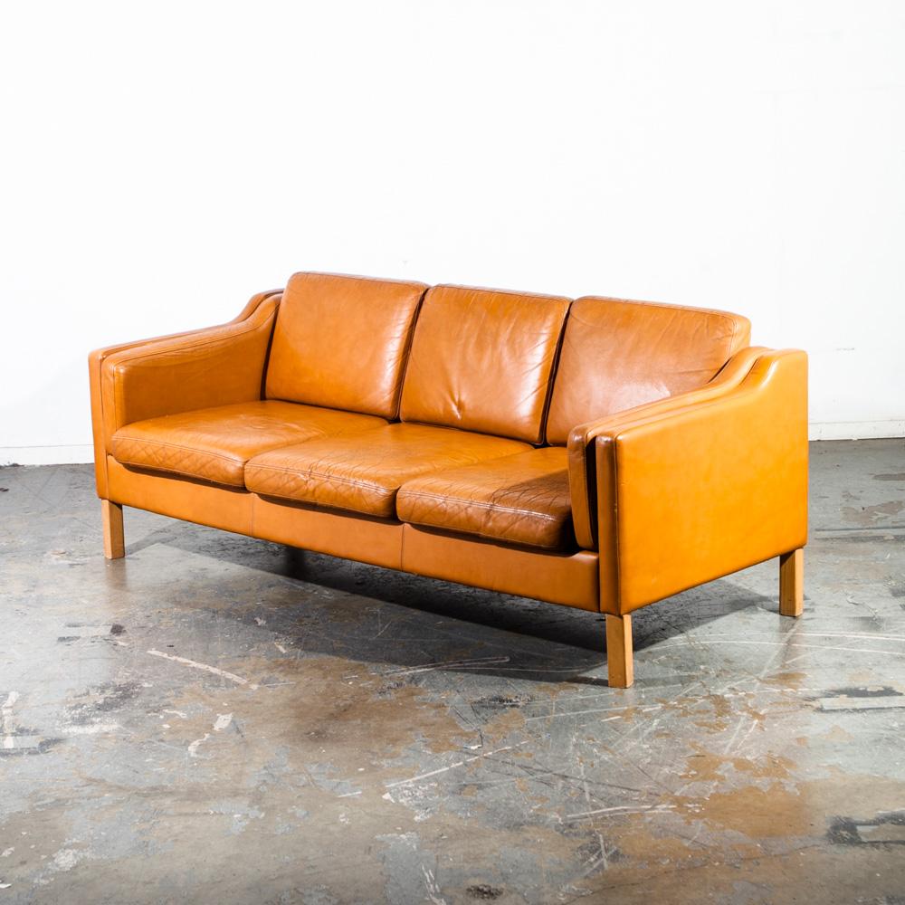 Danish Modern Sofas: Mid Century Danish Modern Sofa Couch Borge Mogensen
